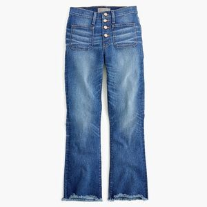 J. Crew Jeans - J. Crew Point Sur High-Rise Demi-Boot Jean